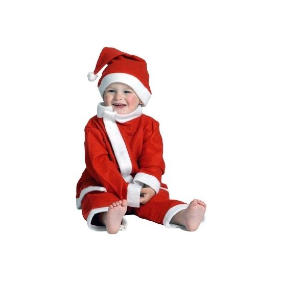 3-delig kerstman peuter kostuum