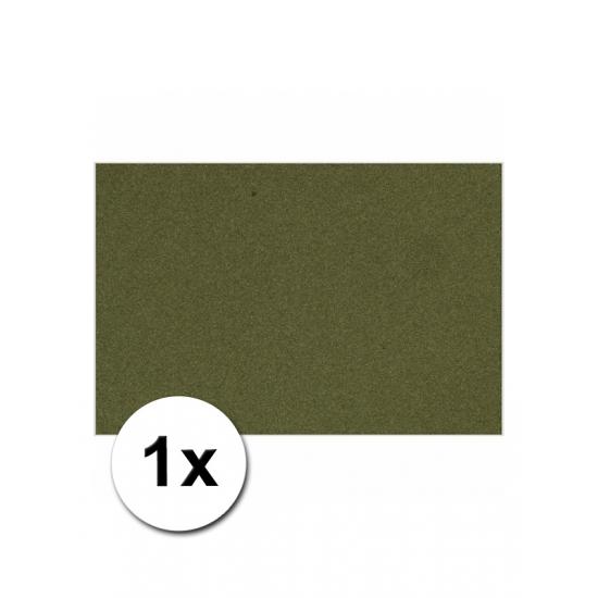 A4 hobby karton donkergroen 1x