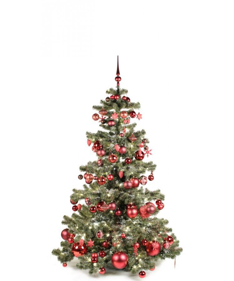 Basic Tree Warm Bordeaux 180cm | Kerstbomen