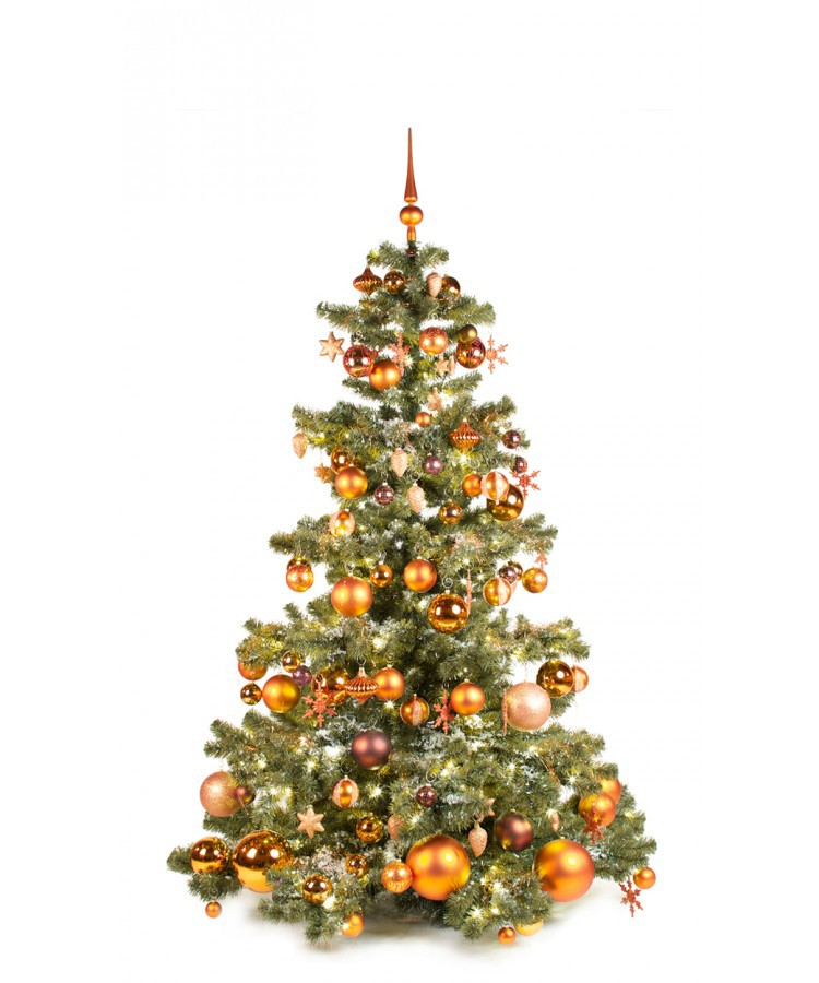 Basic Tree Warm Copper 180cm | Kerstbomen