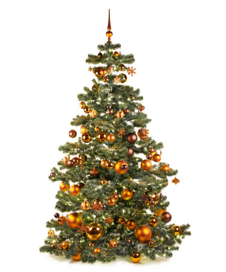 Basic Tree Warm Copper 210cm | Kerstbomen