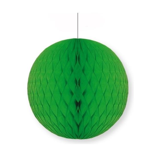 Decoratie bol groen 10 cm