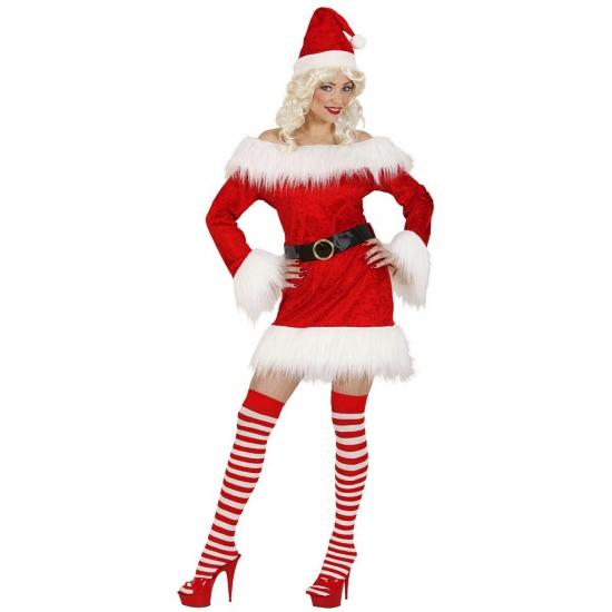 Fluwelen kerstpakje voor dames