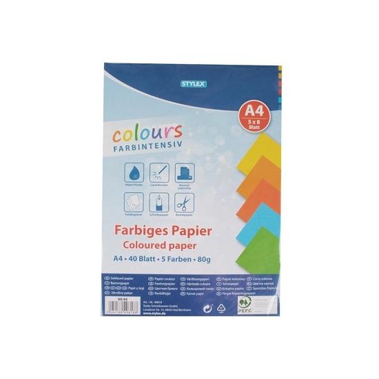 Gekleurd A4 papier 80 gram