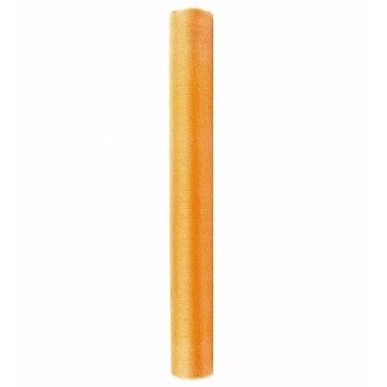 Gouden glans organza stof 36 cm