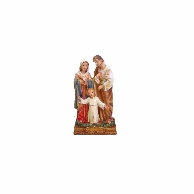 Heilige familie met Jezus, Maria en Jozef 15 cm