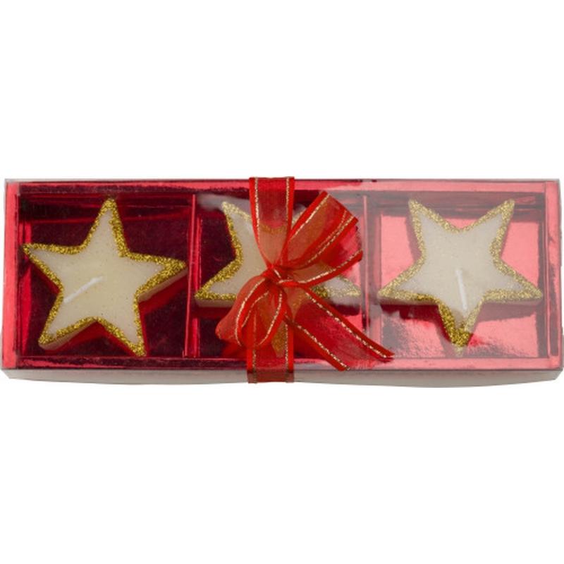 Kaarsen set in geschenkdoosje
