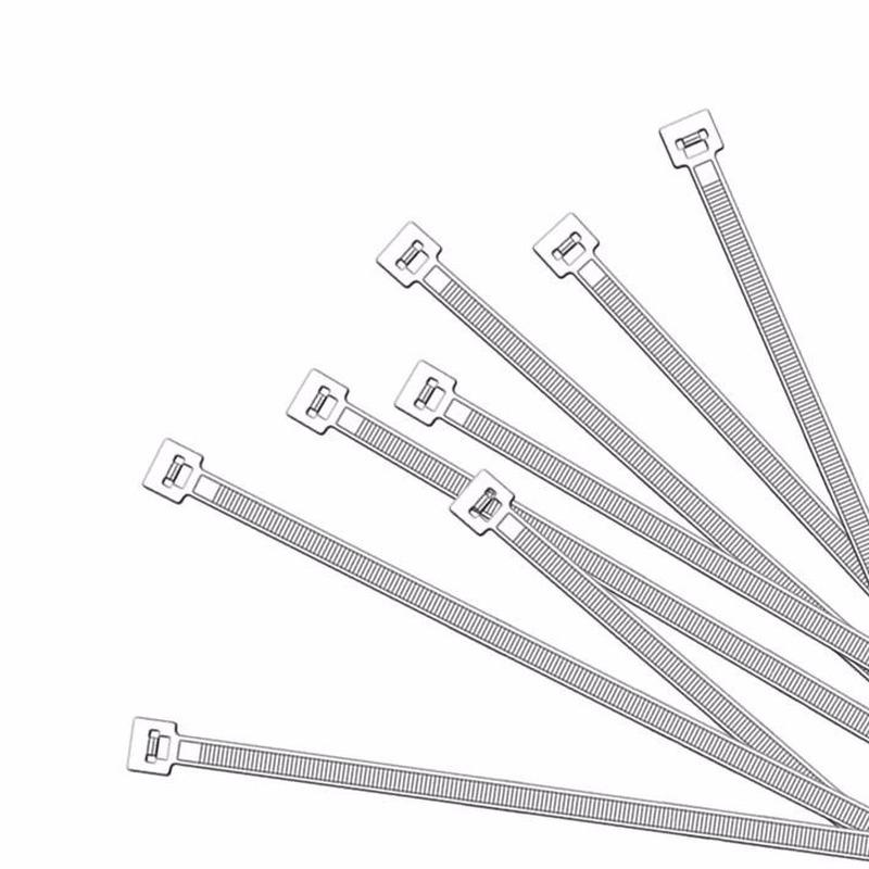 Kabelbinders wit 100 x 2,5 mm 100 stuks