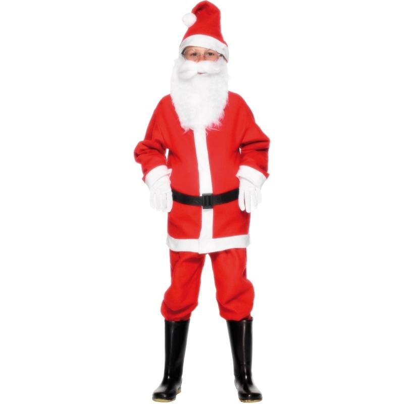 Kerstman kostuum voor kinderen