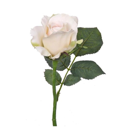 Kunst roos Alice wit 30 cm