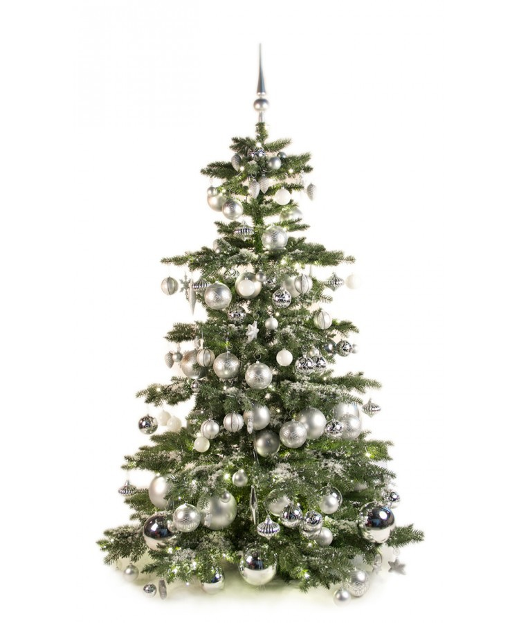 Luxury Tree Bright and Silver 210cm | Kerstbomen
