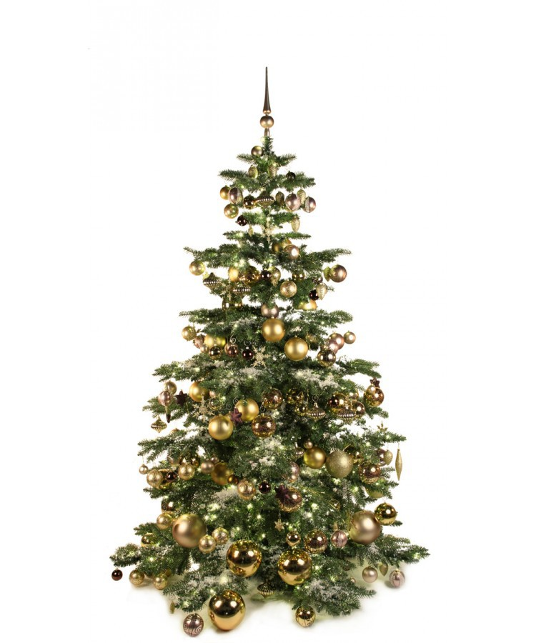 Luxury Tree Golden Mocca 210cm | Kerstbomen