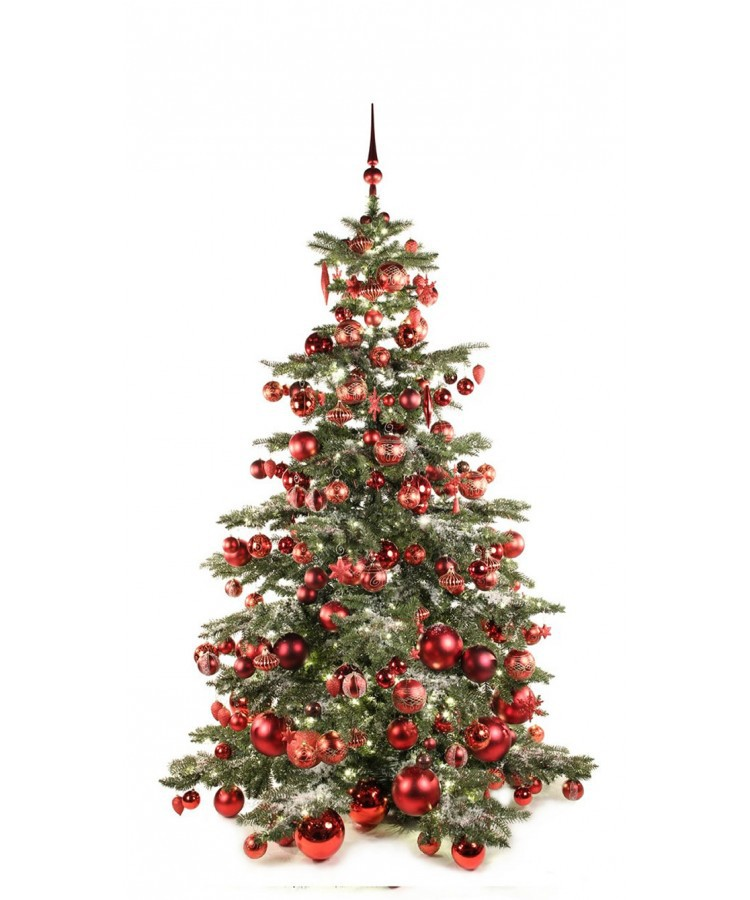Luxury Tree Warm Bordeaux 210cm | Kerstbomen