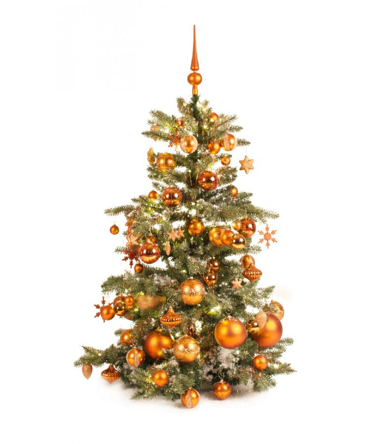 Luxury Tree Warm Copper 120cm | Kerstbomen