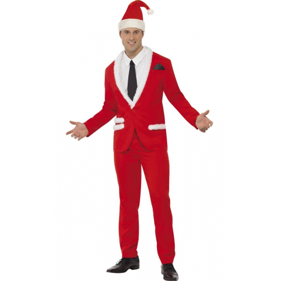 Rood kerst pak voor heren