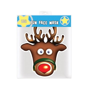 Rudolph het rendier masker