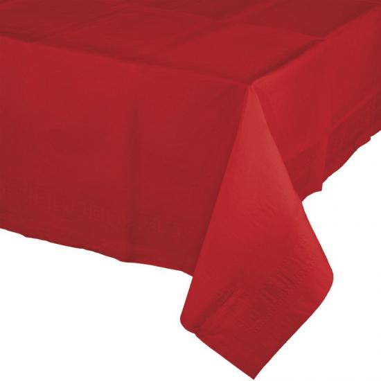 Tafelkleed rood 274 x 137 cm