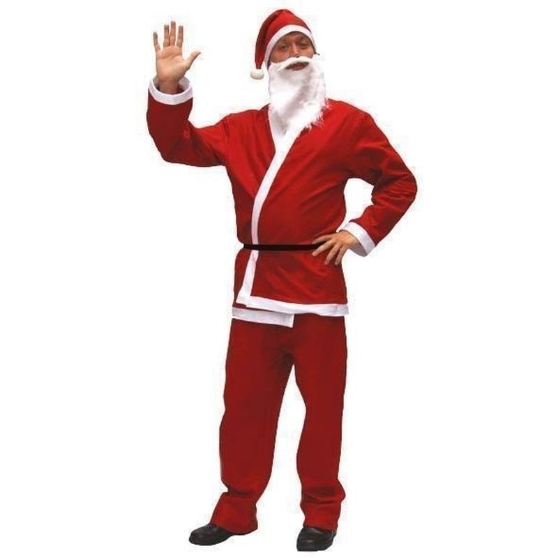 Voordelig kerstman kostuum