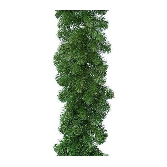 Groene lametta dennenslinger 270 cm