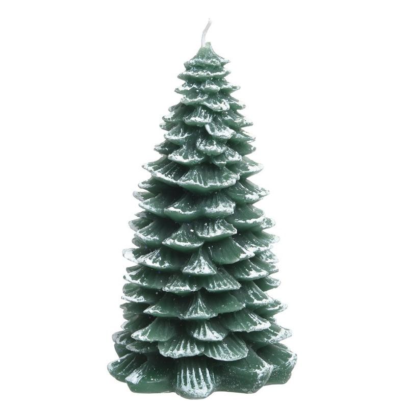 Kerstboom kaars 12 cm