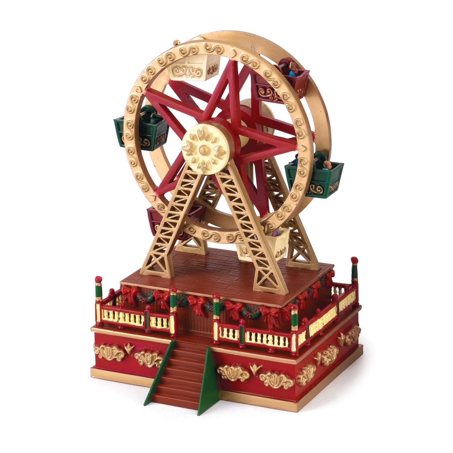 Mr. Christmas – Muziekdoos Mini Ferris Wheel | 51053198022 | MX-19802