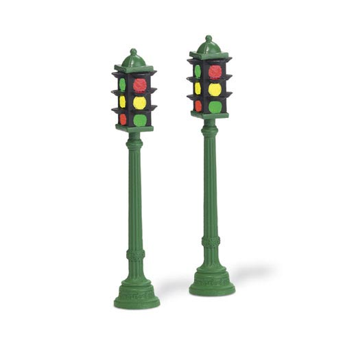 dp56 – Village Corner Stoplights- set/2 | 0734409483866 | DP-802109