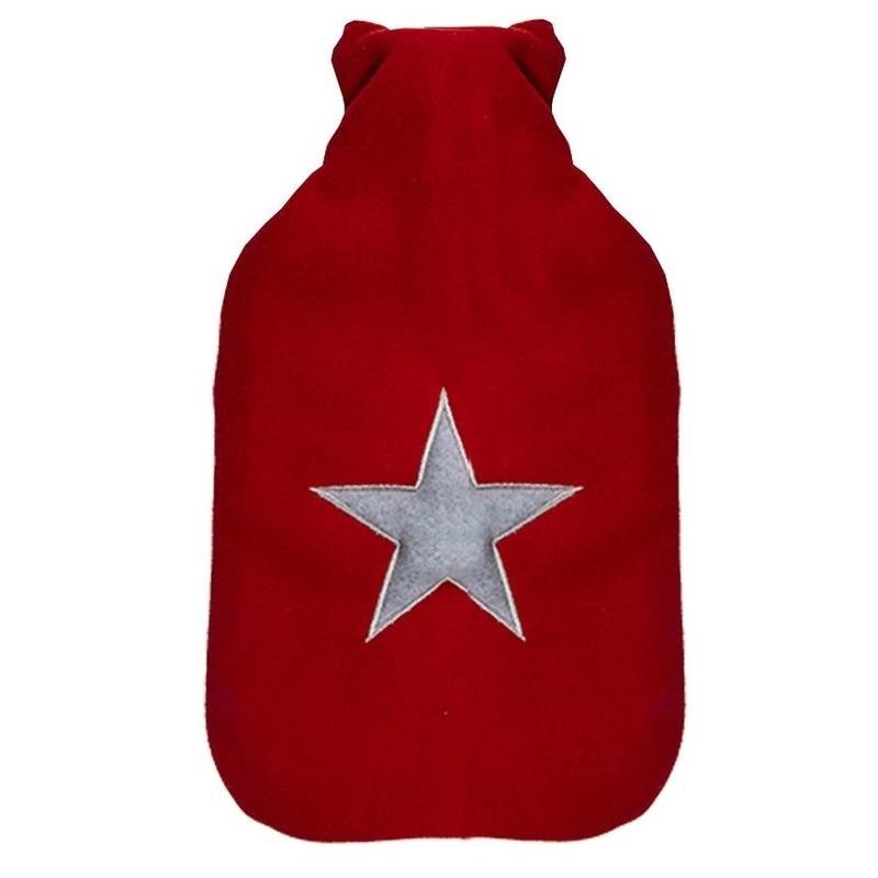 Rode kruik met grijs sterretje