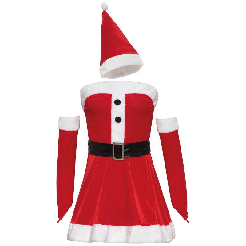Sexy Kerstvrouw jurkje voor dames