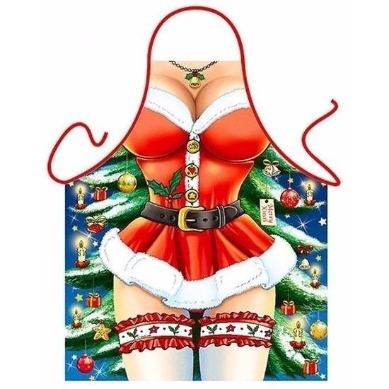 Sexy kookschort Kerst miss