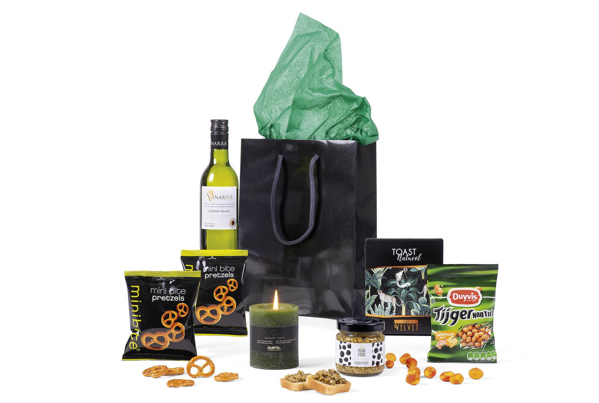 Kerstpakket Black Bag – Per 4 stuks