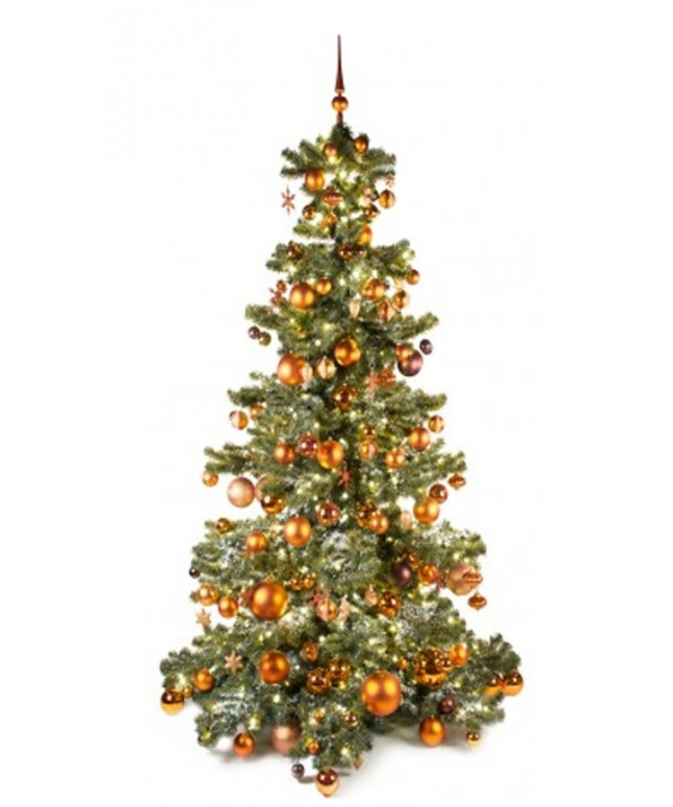 Luxury Tree Warm Copper 240cm | Kerstbomen