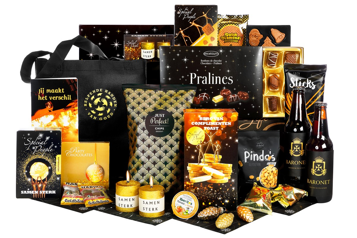 Zwart Gouden Topper | Kerstpakketten